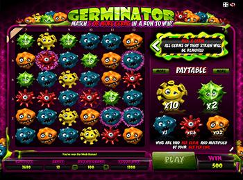 Автоматы с бонусами Germinator