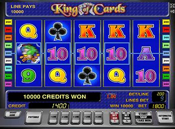 Автоматы с бонусами King Of Cards