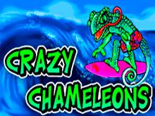 Азартный игровой автомат Crazy Chameleons с высокими коэффициентами в казино